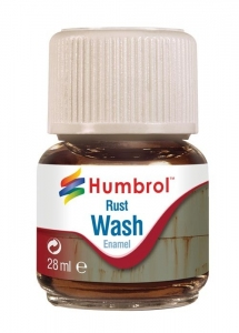 Humbrol AV0210 Enamel Wash Rust 28ml