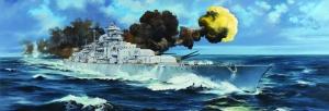 Trumpeter 03702 Pancernik Bismarck - 1:200