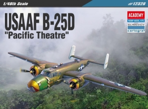 Academy 12328 USAAF B-25D Pacific Theatre - 1:48