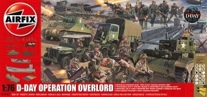 Airfix A50162 Gift Set - D-Day Operation Overlord 1:76