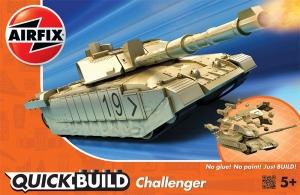 Airfix J6010 Quickbuild - Challenger Tank Desert