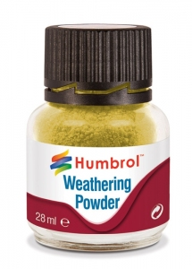 Humbrol AV0003 Pigment Weathering Powder 28 ml - Sand AV0003