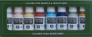 Vallejo 70104 Zestaw Model Color 8 farb - High Elves
