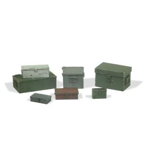 Vallejo SC223 Diorama Accessories Skrzynie metalowe 1:35