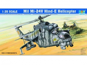 Trumpeter 05103 Helikopter MI-24V HIND-E - 1:35