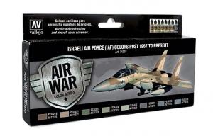 Vallejo 71203 Zestaw Air War 8 farb - Israeli Air Force (IAF) - od 1967