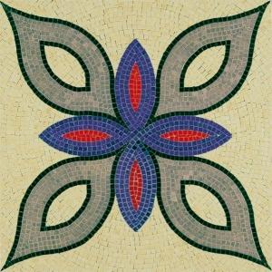 Aedes Ars 5511 Mozaika 300x300 mm - Wzór roślinny