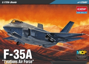 Academy 12561 F-35A 7 Nations Air Force 1:72