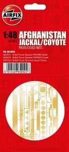 Airfix A65002 Części fototrawione - Jackal / Coyote Afghanistan 1:48