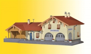 Kibri 39388 Stacja kolejowa Grasbrunn