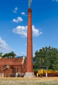 Kibri 38633 Komin fabryczny wys. 29 cm