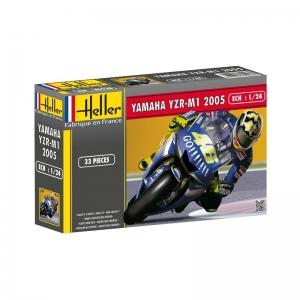 Heller 80928 Yamaha YZR M1 2005 Valentino Rossi - 1:24