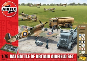 Airfix A50015 Gift Set - Battle of Britain Airfield Set 1:76