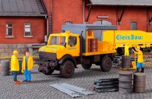 Kibri 10770 H0 Unimog GleisBau z oświetleniem Led