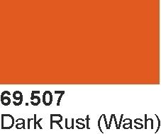 Vallejo 69507 Mecha Color 69507 Dark Rust Wash