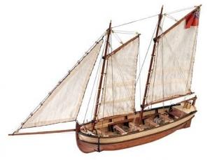 Artesania Latina 19015 HMS Endeavour - szalupa