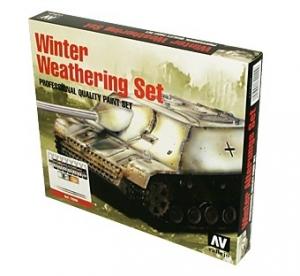 Vallejo 72220 Zestaw Model Color 16 farb - Winter Weathering
