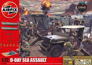 Airfix A50156 Gift Set - D-Day Sea Assault 1:72