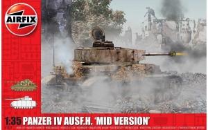 Airfix A1351 Panzer IV Ausf.H Mid Version - 1:35