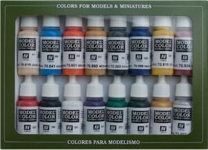 Vallejo 70110 Zestaw Model Color 16 farb - Napoleonics