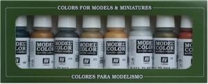 Vallejo 70118 Zestaw Model Color 8 farb - Metallic Colors