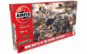 Airfix A50178 Gift Set - Battle of the Somme Centenary 1:72