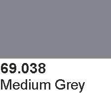 Vallejo 69038 Mecha Color 69038 Medium Grey