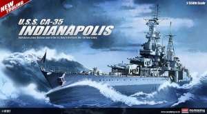 Academy 14107 CA-35 USS Indianapolis