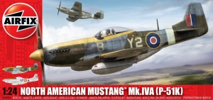 Airfix A14003A North American P-51K/RF Mustang 1:24
