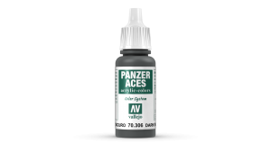 Vallejo 70306 Panzer Aces 70306 Dark Rubber
