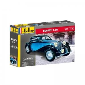 Heller 80706 Bugatti T.50 - 1:24