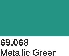 Vallejo 69068 Mecha Color 69068 Metallic Green