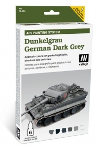 Vallejo 78400 AFV Painting System: German Dark Grey