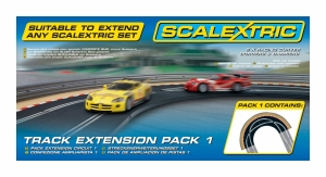 Scalextric C8510 Track Extension Pack 1 - Racing Curve