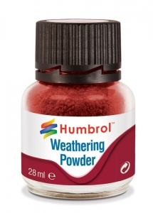 Humbrol AV0006 Pigment Weathering Powder 28 ml - Iron Oxide AV0006