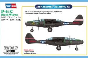 Hobby Boss 87263 US P-61C Black Widow - 1:72