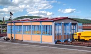 Kibri 39450 Lokomotywownia trzystanowiskowa