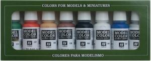 Vallejo 70103 Zestaw Model Color 8 farb - 8 Wargames Basics