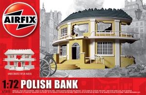 Airfix A75015 Ruiny budynku WWII - Bank - Polska - 1:72