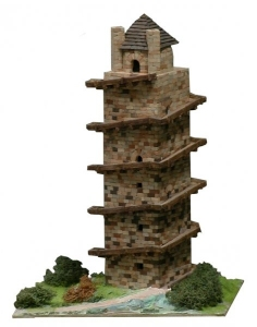 Aedes Ars 1252 Wieża Primitiva Torre de Hercules 1:125
