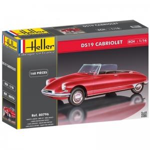 Heller 80796 Citroen DS19 Cabriolet - 1:16