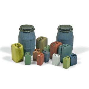 Vallejo SC211 Diorama Accessories Beczki i pojemniki plastikowe #2 1:35