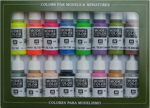 Vallejo 70112 Zestaw Model Color 16 farb - Wargame Special