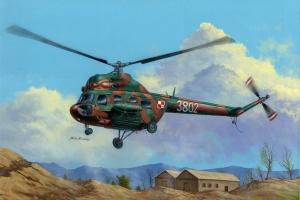 Hobby Boss 87241 Helikopter MI-2T Hoplite (polskie malowanie) - 1:72