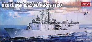 Academy 14102 FFG-7 USS Oliver Hazard Perry