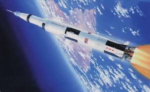 Airfix A11170 Apollo Saturn V 50th Anniversary of 1st Manned Moon Landing - 1:144