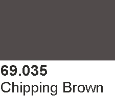 Vallejo 69035 Mecha Color 69035 Chipping Brown