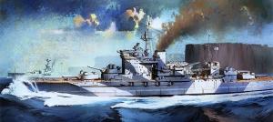 Academy 14105 HMS Warspite