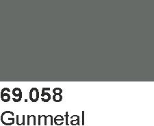 Vallejo 69058 Mecha Color 69058 Gunmetal