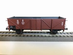 Exact-Train EX20342 Wagon towarowy odkryty Omm34 Klagenfurt, 301 319 Wddo PKP, Ep. III